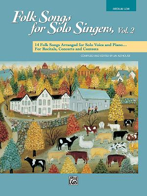 Folk Songs for Solo Singers By Althouse, Jay